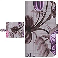 Ploom TECH プルームテック 専用 手帳型ケース フラワー 花柄 シリーズ 全面印刷 145