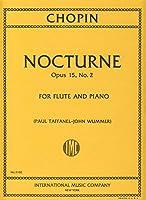 CHOPIN - Nocturno Op.15 nコ 2 para Flauta y Piano (Taffanel/Wummer)