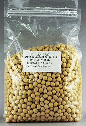 有機無農薬栽培 大豆 (1000g)
