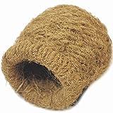 小鳥のハウス ココナッツ ツボ巣 中