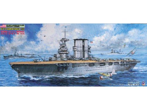 ピットロード 1/700 米国海軍 レキシントン級航空母艦 CV-3 サラトガ