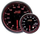 AUTOGAUGE(オートゲージ) 日本製モーター 60mm 電圧計 2色バックライト エンジェルリング ワーニング付 458シリーズ