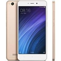 Xiaomi Redmi 4A SIMフリー スマートフォン 4G LTE デュアルSIM Android 6.0 RAM:2GB ROM:16GB Qualcomm Snapdragon 425 クアッドコア 1.4GHz CPU 5.0インチ スクリーン 3120mAh バッテリー (ゴールド) [並行輸入品]