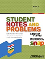 Student Notes and Problems Solution Manual Math 3