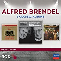 Alfred Brendel - Three Classic Albums [3 CD] by Alfred Brendel (2014-05-06)
