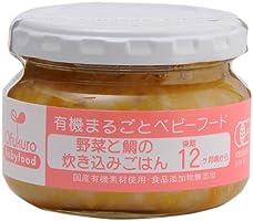 Ofukuro 有机整体食物 蔬菜和鲷鱼的蒸煮饭 【后期12个月左右起】 100g×6