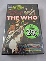 The Who The Kids Are Alright Musical ExtravaganzaコンサートBetamax 1979