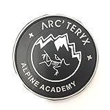 Arc'teryx alpine academy ワッペン パッチ アークテリクス リーフ LEAF PATCH PVC