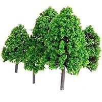 22本セット 樹木 木 モデルツリー 情景コレクション ザ?鉄道模型?ジオラマ?建築模型?電車模型に 3-16 cm 緑