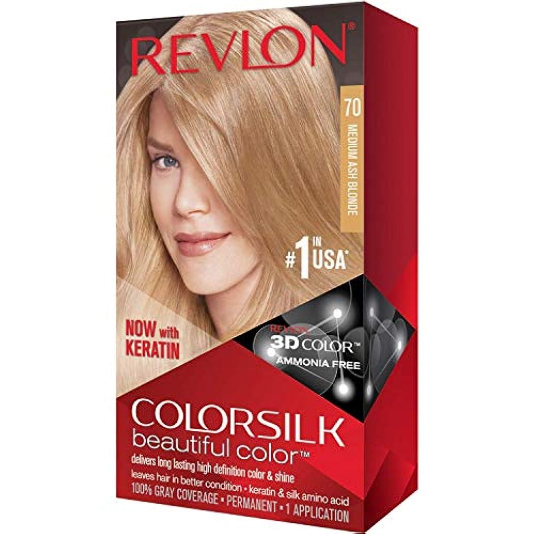 妖精戸惑う悲鳴海外直送品Revlon Colorsilk Natural Hair Color, 7A Medium Ash Blonde each by Revlon