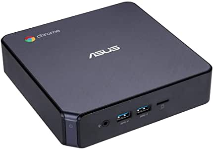 【国内正規品】ASUS Chromebox (Chrome OS/インテルCeleron 3865U / 4GB / SSD64GB) CHROMEBOX3-NC128Uブラック
