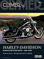 Harley-Davidson FLH/FLT/FXR Evolution 1984-1998 (CLYMER MOTORCYCLE REPAIR)