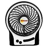 Bengoo usb携帯扇風機 卓上 小型 ファン  3段階風力調整可能 静音 省エネ usbと乾電池対応