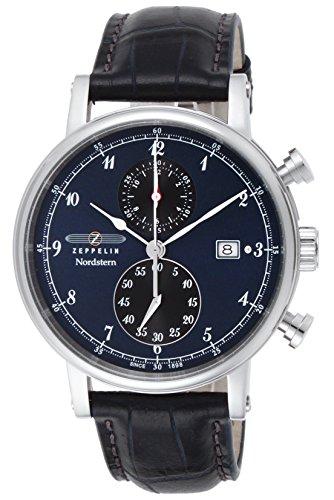 [ツェッペリン]ZEPPELIN 腕時計 Nordstern ネイビー文字盤 7578-3 メンズ 【並行輸入品】