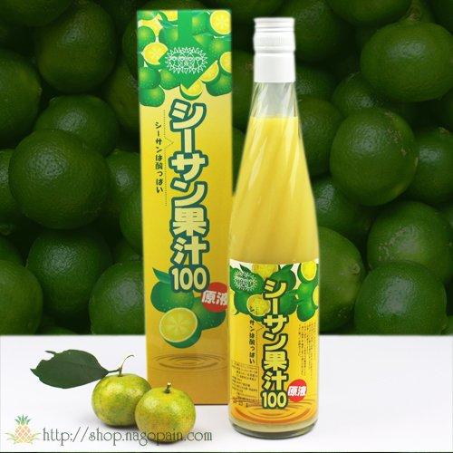 シーサン果汁100 原液 500ml/名護パイナップルワイナリー