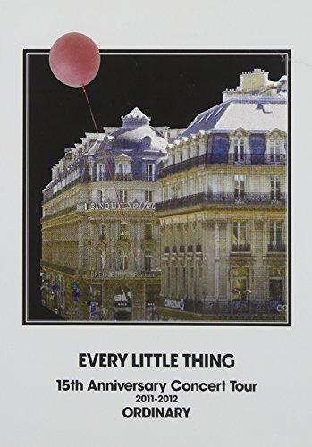 [画像:EVERY LITTLE THING 15th Anniversary Concert Tour 2011-2012 ORDINARY(2枚組DVD)]