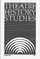 Theatre History Studies 1988