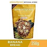 Amazin' GrazeBanana Bread Granola, Banana Cinnamon, 250g
