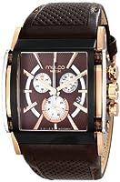 MULCO Unisex MW1-29785-135 Analog Display Swiss Quartz Brown Watch [並行輸入品]