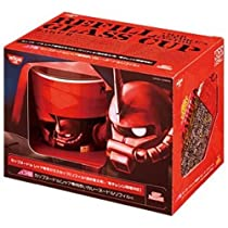 【数量限定】日清 カップヌードルシャア専用ガラスカップ赤いカレーヌードルリフィル付 80g