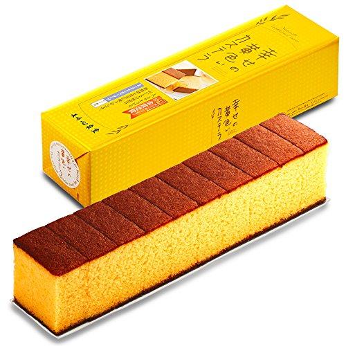 長崎心泉堂 長崎カステラ 幸せの黄色いカステラ 10切カットタイプ (310g) -
