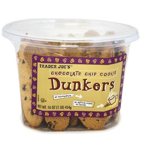 トレーダージョーズ チョコレートチップ ダンカーズ クッキー Trader Joe's Chocolate Chip Dunkers Cookie[並行輸入品]