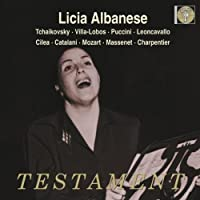 Licia Albanese Sings Arias