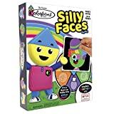 Colorforms おかしな顔ゲーム - 家族で楽しむクラシックアクティビティ - 対象年齢3歳以上