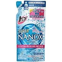 トップ SUPER NANOX(スーパー ナノックス) つめかえ用 360g ×10個セット