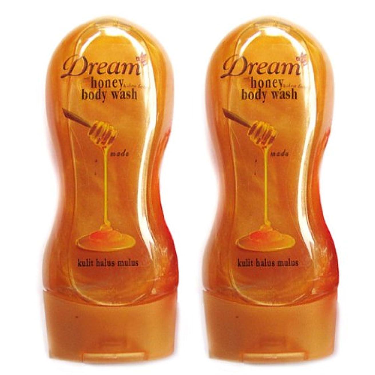 コレクション第二もっと少なくDream(ドリーム) ハニー&シアバター ボディウォッシュ250ml 2本セット [並行輸入品][海外直送品]