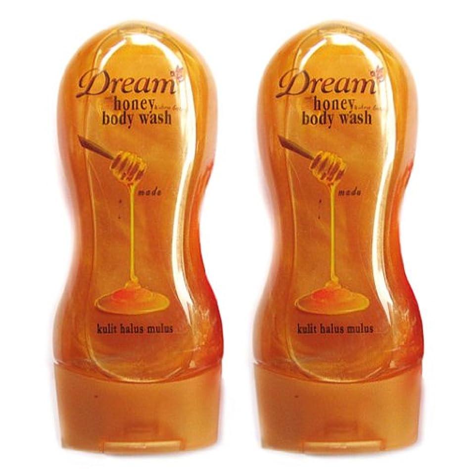 バトル名前好むDream(ドリーム) ハニー&シアバター ボディウォッシュ250ml 2本セット [並行輸入品][海外直送品]