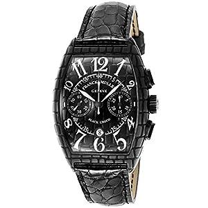 [フランクミュラー]FRANCK MULLER 腕時計 ブラッククロコ ブラック文字盤 自動巻 クロコ革 クロノグラフ 7880CC-CRO-BLK-BLK-B メンズ 【並行輸入品】