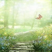 Natureテーマビデオスタジオ背景コンピュータ印刷写真背景写真バックドロップCP _ g-060