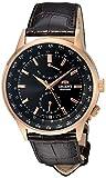 [オリエント]ORIENT 腕時計 AUTOMATIC WORLD TIME POWER RESERVE オートマチック ワールドタイム FA06001B メンズ [逆輸入]