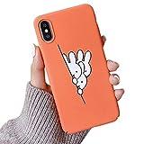 Meezzy iphoneXS Max ケース 韓国風 可愛いデザイン Iphone8携帯ケース...