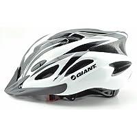 【GIANT】ジャイアント 軽量ヘルメット 白×黒 頭囲57~62cm 並行輸入品