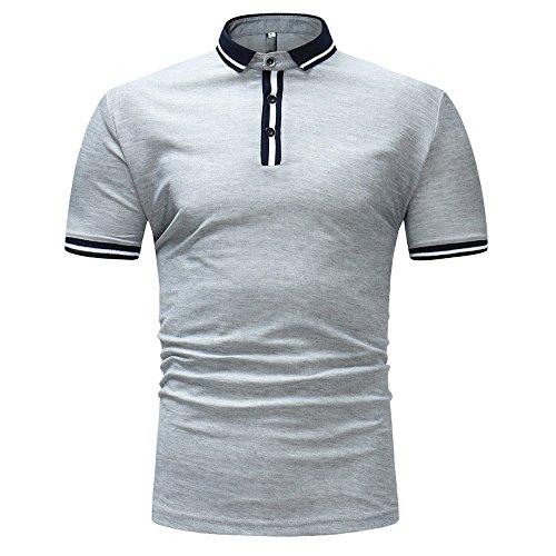 シャツポロシャツ, Glennoky メンズ tシャツ おお...