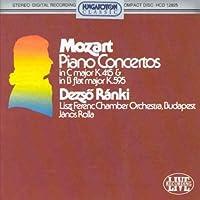 Piano Concertos K.595 & K.415