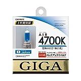 カーメイト 車用 ハロゲン ヘッドライト GIGA エアー H16 4700K 300lm BD1630