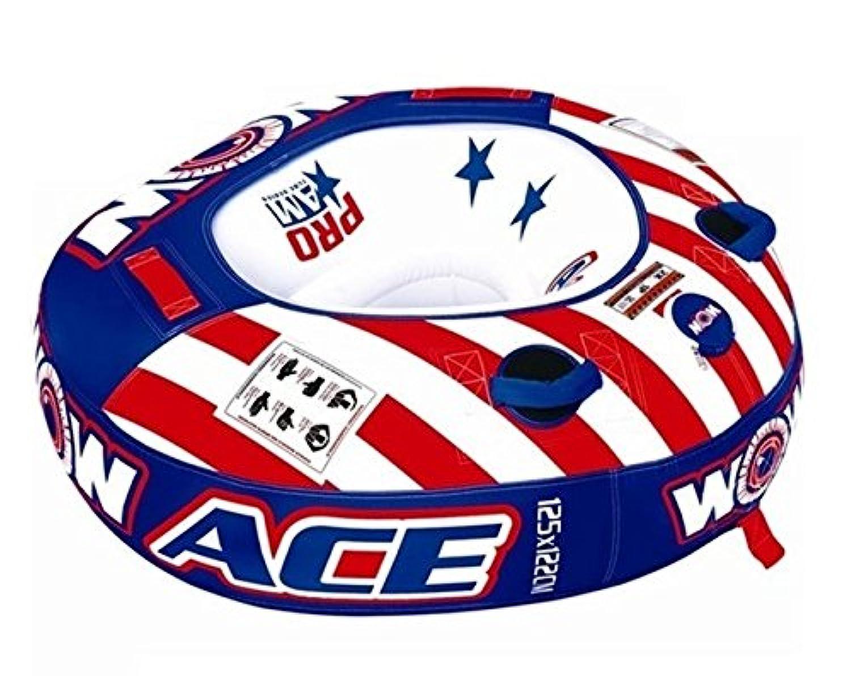 WOW ACE (エース) トーイング ビスケット &ロープ & 単3 エアーポンプ 3点セット
