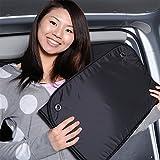 『01s-d004-fu』【日本製】ミニキャブバン DS17V系 遮光 カーテン サンシェード フロント用 アウトドア キャンプ 寝袋 テント 旅行 着替え