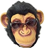 [dream Japan] チンパンジー 猿 サル アニマル 動物 ラバー マスク 夏 秋 祭 盆 踊り ハロウィン 肝試し クリスマス お面 仮面 コスプ..