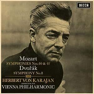 モーツァルト:交響曲第40番・第41番/ドヴォルザーク:交響曲第8番