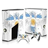 Linyuan 安定した品質 T3037* Skin Decal Wrap Sticker for Microsof XBOX360 SLIM Console+2 Controllers