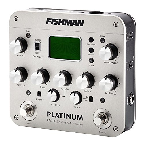 FISHMAN『PlatinumProEQAnalogPreamp』