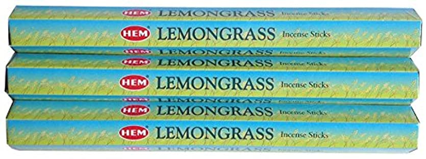 歴史的粗い国民HEM レモングラス 3個セット