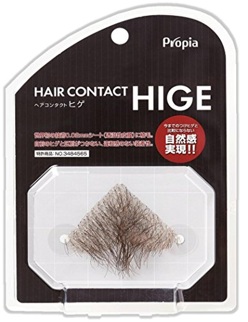 ヒギンズ再撮り合体HAIR CONTACT HIGE アゴヒゲ フジ