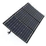 SmartTap 120W ソーラーパネル充電器 PowerArQ Solar 折りたたみ式 太陽光発電 ソーラーチャージャー 高効率ソーラーパネル搭載 MC4 (120W 18V 6.6A)