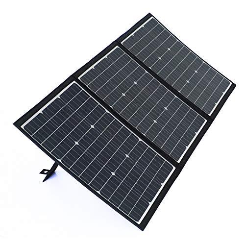 SmartTap 120W ソーラーパネル充電器 PowerArQ Solar 折りたたみ式 太陽光発電 ソーラーチャージャー 高効...