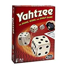 Hasbro Yahtzee Classic Game, Dice Games Clear Printing with Correct Scoring Instruction